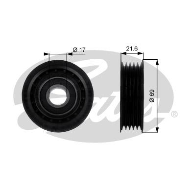 Galet enrouleur accessoires GATES T36189 (X1)
