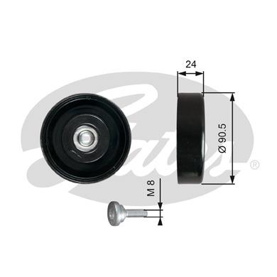 Galet enrouleur accessoires GATES T36251 (X1)