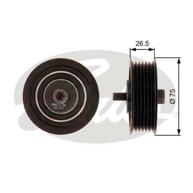 Galet enrouleur accessoires GATES T36262 (X1)