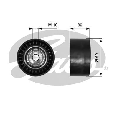 Galet enrouleur accessoires GATES T36380 (X1)