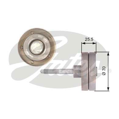 Galet enrouleur accessoires GATES T36382 (X1)