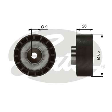 Galet enrouleur accessoires GATES T36383 (X1)