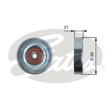 Galet enrouleur accessoires GATES T36395 (X1)