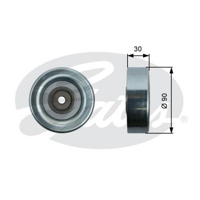 Galet enrouleur accessoires GATES T36415 (X1)