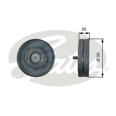 Galet enrouleur accessoires GATES T36436 (X1)