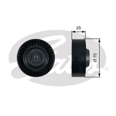 Galet tendeur accessoires GATES T36475 (X1)