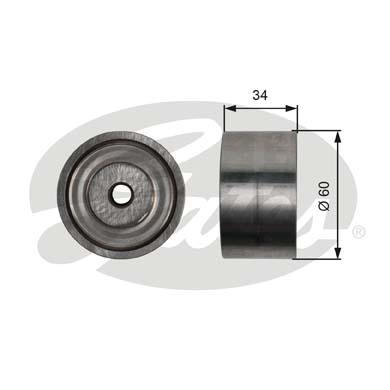Galet enrouleur accessoires GATES T36480 (X1)