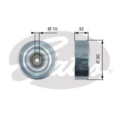 Galet enrouleur accessoires GATES T36495 (X1)