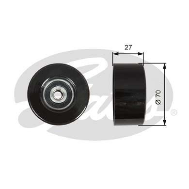 Galet enrouleur accessoires GATES T36608 (X1)