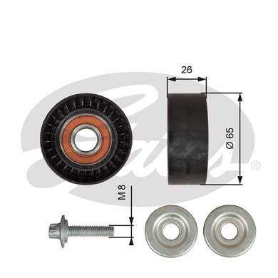 Galet enrouleur accessoires GATES T36618 (X1)