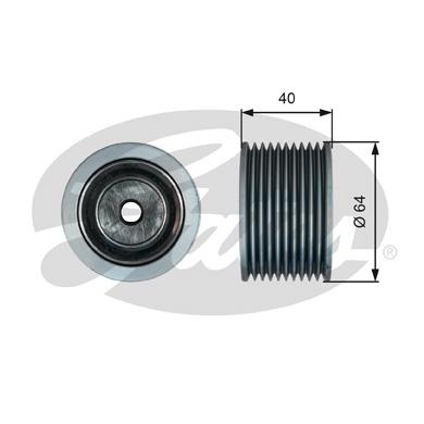 Galet enrouleur accessoires GATES T36632 (X1)