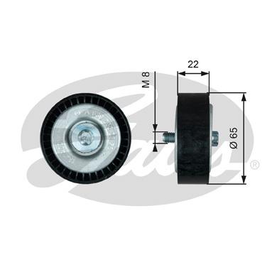 Galet enrouleur accessoires GATES T36734 (X1)