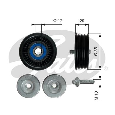 Galet enrouleur accessoires GATES T36765 (X1)