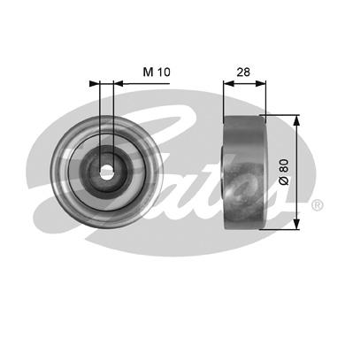 Galet enrouleur accessoires GATES T36778 (X1)