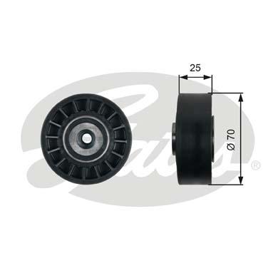 Galet enrouleur accessoires GATES T38095 (X1)