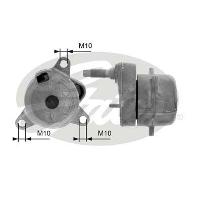Galet tendeur accessoires GATES T39050 (X1)