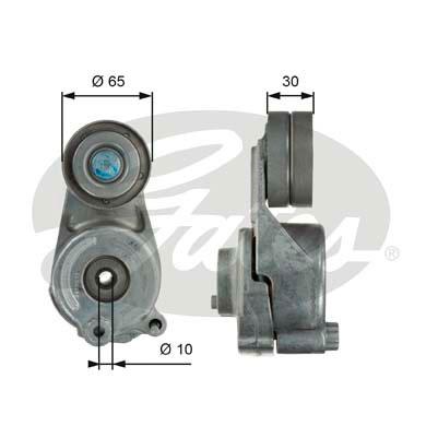 Galet tendeur accessoires GATES T39062 (X1)