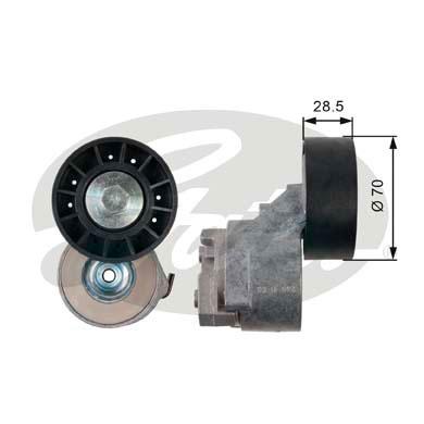 Galet courroie accessoires GATES T39138 (X1)