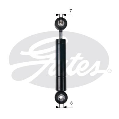 Amortisseur de tendeur courroie accessoires GATES T39235 (X1)