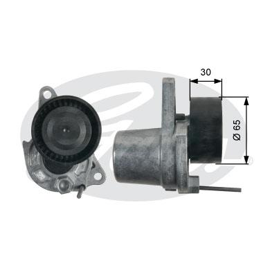 Galet courroie accessoires GATES T39251 (X1)