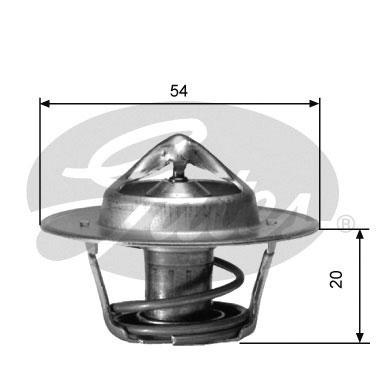 Thermostat/calorstat GATES TH00182G4 (X1)
