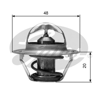 Thermostat/calorstat GATES TH00391G2 (X1)