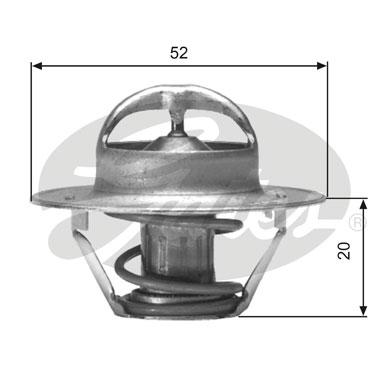 Thermostat/calorstat GATES TH00582G1 (X1)
