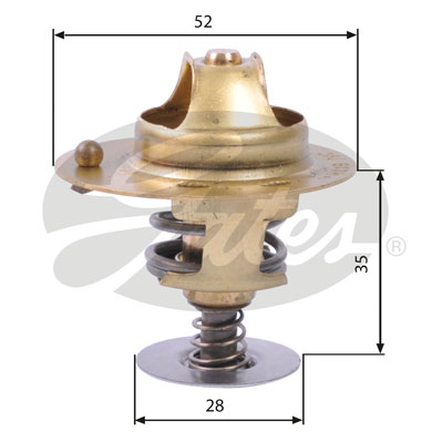 Thermostat/calorstat GATES TH14178G1 (X1)