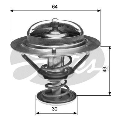 Thermostat/calorstat GATES TH27082G1 (X1)