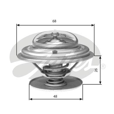Thermostat/calorstat GATES TH32882G1 (X1)