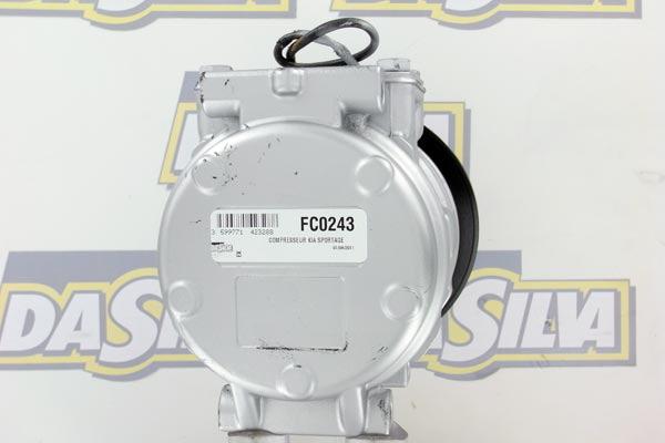 Compresseur DA SILVA FC0243 (X1)