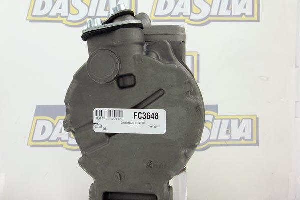 Compresseur DA SILVA FC3648 (X1)