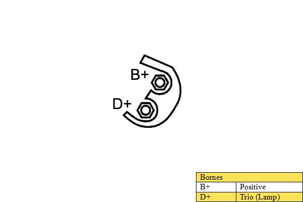 Alternateur DA SILVA 010046 (X1)