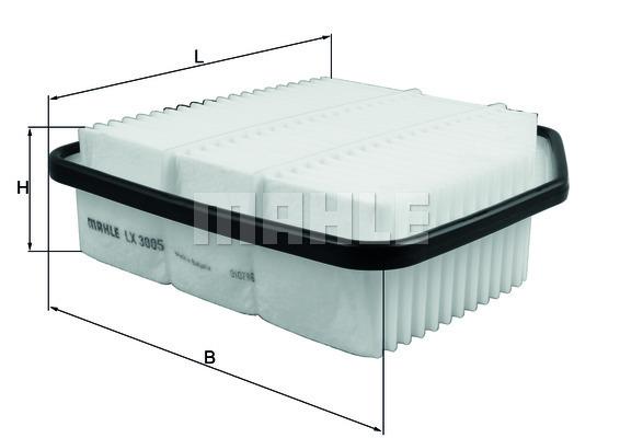 Filtre a air KNECHT LX 3005 (X1)