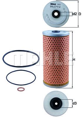 Filtre a huile KNECHT OX 92D (X1)