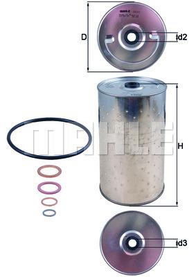 Filtre a huile KNECHT OX 30D (X1)