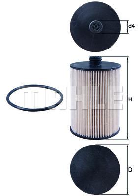 Filtre a carburant KNECHT KX 226D (X1)