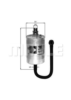 Filtre a carburant KNECHT KL 69 (X1)