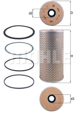 Filtration KNECHT OX 5D (X1)