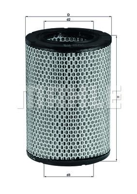 Filtre a air KNECHT LX 228 (X1)
