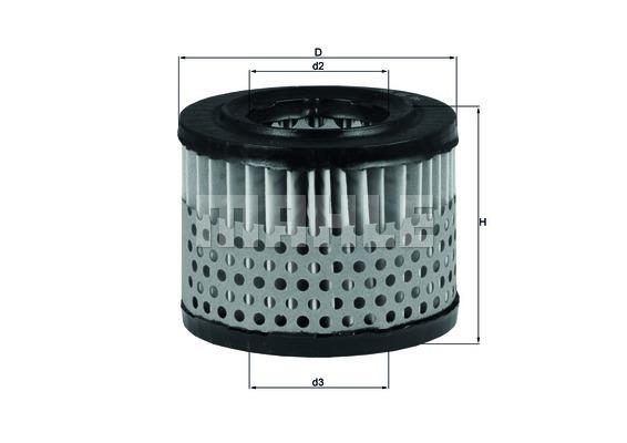 Filtre a air KNECHT LX 281 (X1)