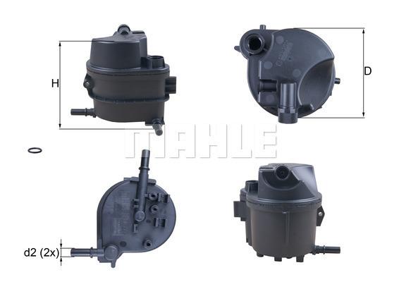 Filtre a carburant KNECHT KL 777D (X1)