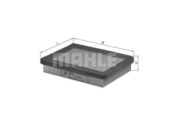 Filtre a air KNECHT LX 71 (X1)