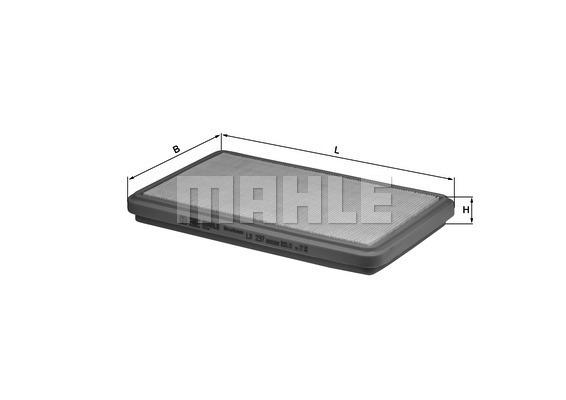 Filtre a air KNECHT LX 237 (X1)