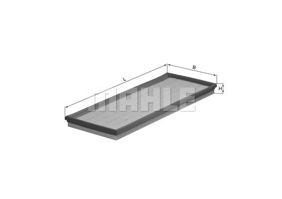Filtre a air KNECHT LX 407 (X1)