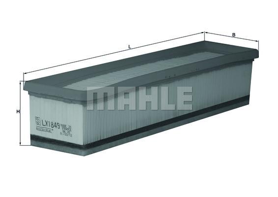 Filtre a air KNECHT LX 1849 (X1)