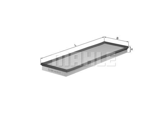 Filtre a air KNECHT LX 696/1 (X1)