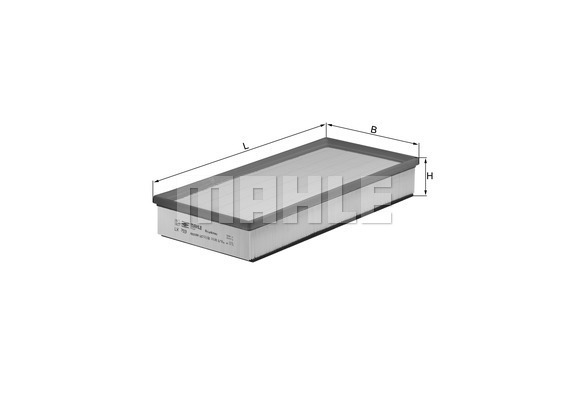 Filtre a air KNECHT LX 793 (X1)