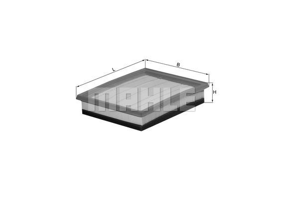 Filtre a air KNECHT LX 1036/2 (X1)