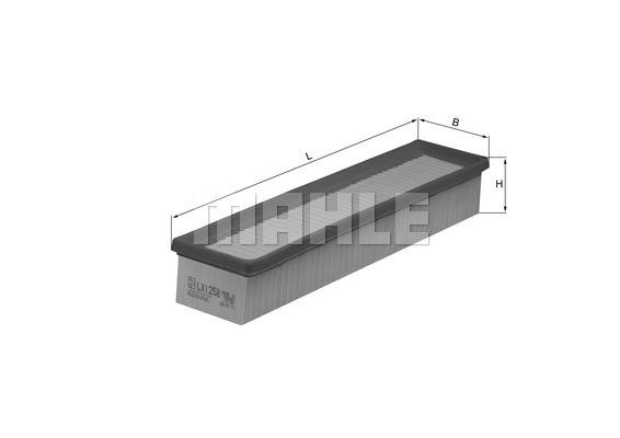 Filtre a air KNECHT LX 1258 (X1)